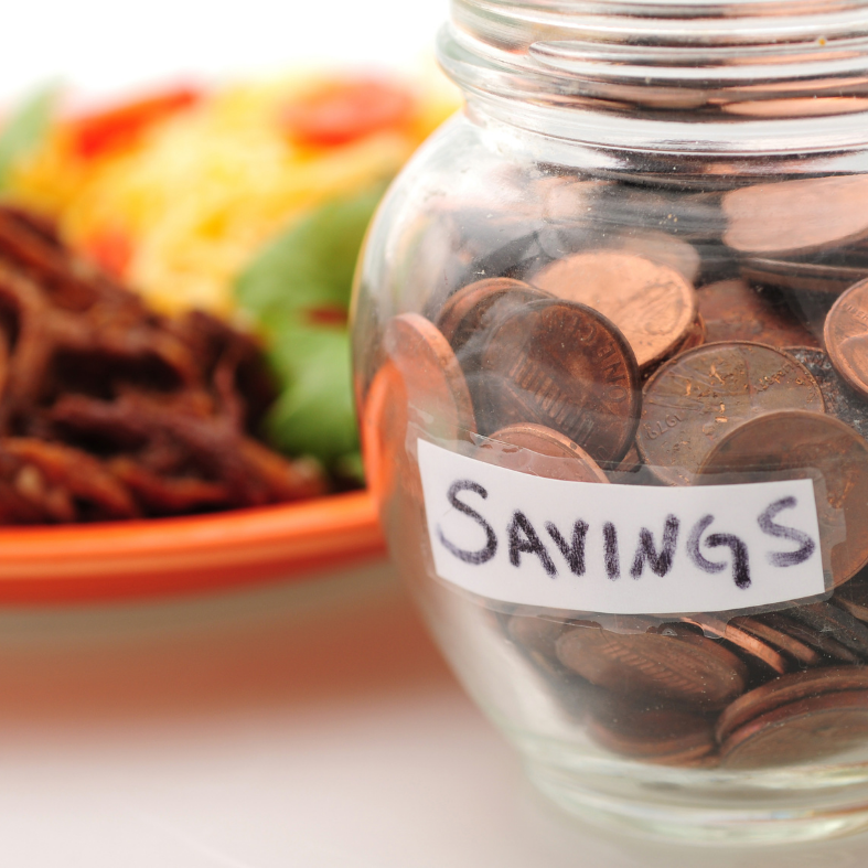 Eating for two on a budget