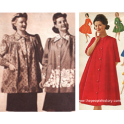 1940s and 1960s maternity clothing